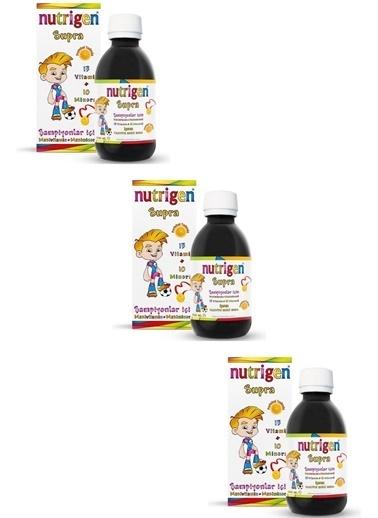 Nutrigen Nutrigen Supra Şurup 3'lü Ekonomik Paket 200 Ml Renksiz